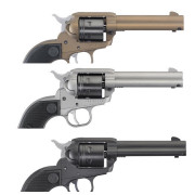 Experience-Zamak-Ruger-revolver-Wrangler-22LR-3-couleurs